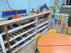Many lovely manipulatives and toys