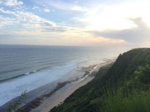 Beautiful scenery at Uluwatu