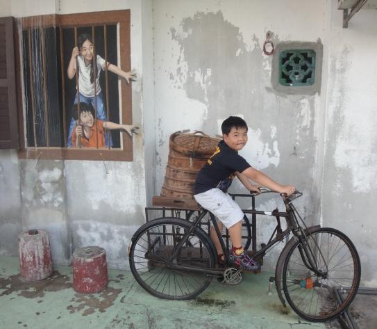 penang, street art, georgetown
