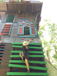 escape park, penang, gecko tower, obstacle course