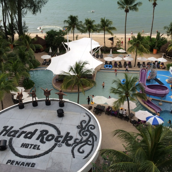 hard rock hotel penang, lil rock suite, beach, batu ferringhi