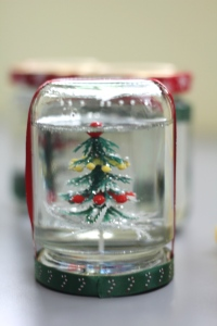 They made snowglobes!