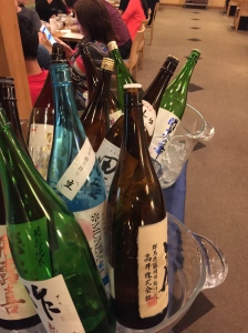 Enough sake?