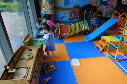 Toddler play areas