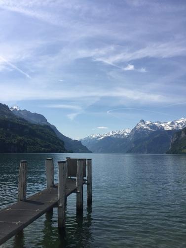 Brunnen lake switzerland