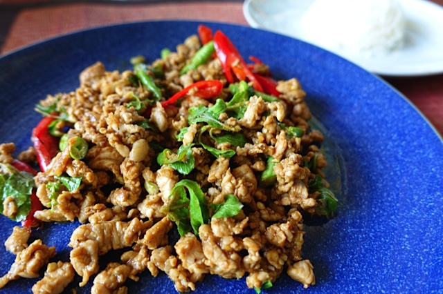 thai basil rice