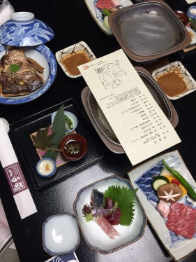 Hotel Shiragiku kaiseki