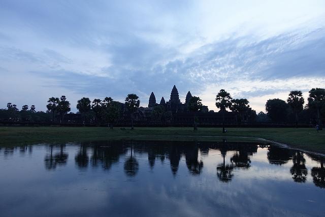 Siem Reap Cambodia Angkor Wat Sunrise