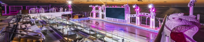 Genting Dream Cruise Zouk Beach Club