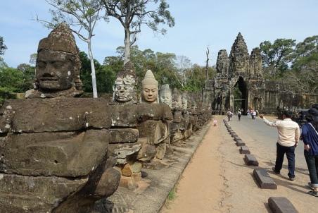 Wat Bayon Siem Reap Cambodia