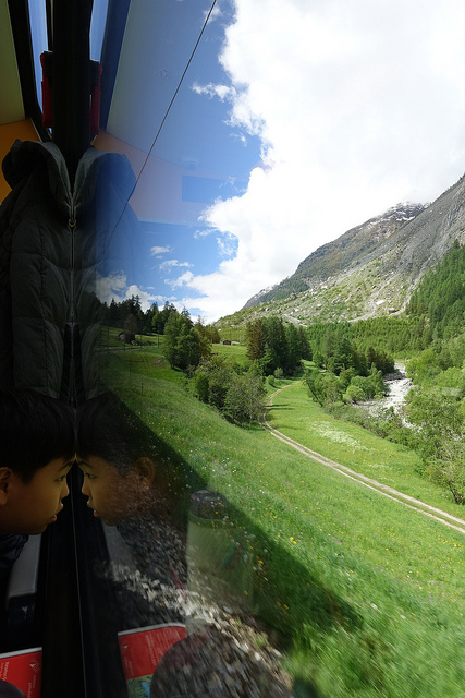 Glacier Express Switzerland Swiss
