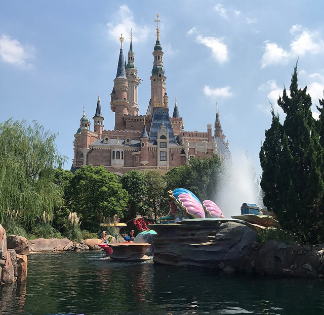 Shanghai Disneyland Voyage of the Crystal Grotto