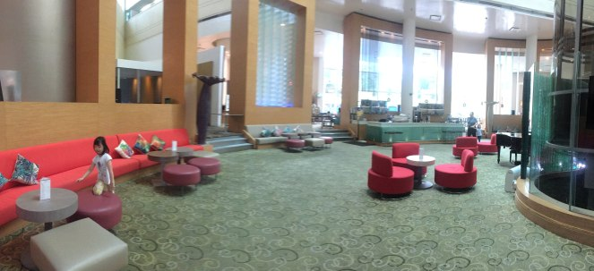 Village Hotel Changi Lobby Atrium