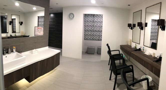 Ganbanyoku shower room